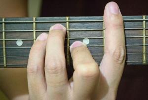 Barre Guitar Chord