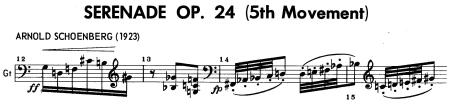 Schoenberg guitar