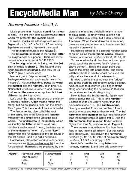 Harmoniy Numerics 1