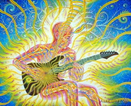 Alex Grey Guitar