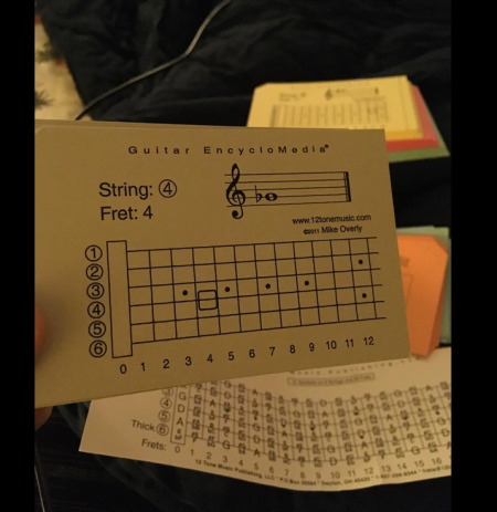 Guitar Flashcard